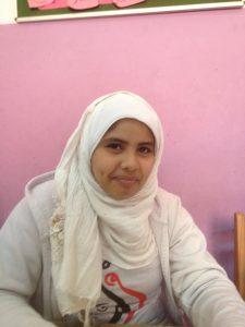 Fatma in the school