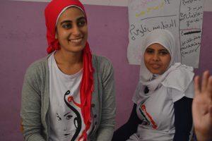 Fatma and her Heya Masr teacher