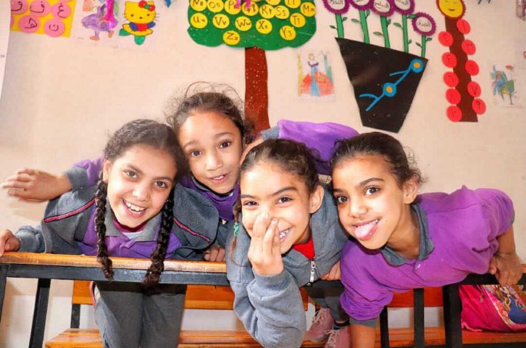 Girls enjoying in heya masr